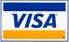 Akzeptierte Zahlungsmethode Visa